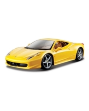 BBURAGO Ferrari 458 Italia (1:24) желтая