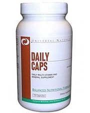 Universal Nutrition Комлекс витаминов и минералов Universal Daily Caps (75 капсул)