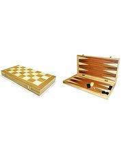 Шахматы-нарды деревяные