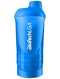 BioTech Wave+ Shaker 3в1 600 мл голубой