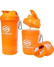 Smart Shake Шейкер 3-х камерный SmartShake Original 600 мл neon orange
