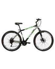 "Crossride Flash MTB 26"" черно-зеленый, рама - 19"""