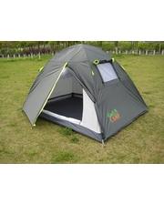 Green Camp Палатка двухместная GreenCamp 1001-A серая