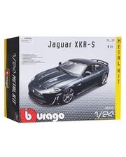BBURAGO Jaguar XKR-S (темно-зеленый, 1:24)