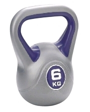 Live UP Plastic Kettel Bell 6 кг
