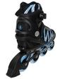 ZLT Коньки роликовые ZEL Z-905B-42 Metropolis черный с синим - 42