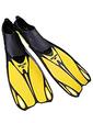 Dorfin (ZLT) желтые, размер - 44-45