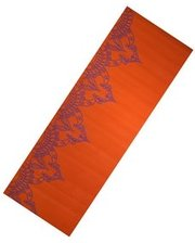 Live UP PVC Yoga Mat With Print 6 мм orange