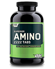 Optimum Nutrition Superior Amino 2222 (160 таблеток)