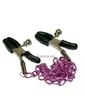 Прищепки на соски «Nipple Chain lila»
