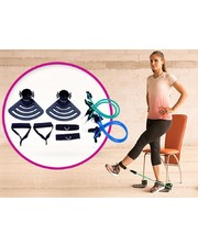 Top Shop Тренировочная система с эспандерами Gymbit Bandu