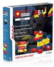 Light Stax с LED подсветкой Basic 5в1 Версия с датчиком звука LS-S12011