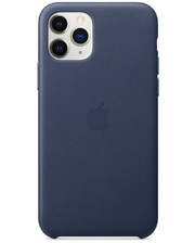 Apple iPhone 11 Pro Leather Case - Midnight Blue (MWYG2)
