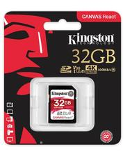Kingston 32GB SDHC C10 UHS-I U3 R100/W80MB/s( SDR/32GB )