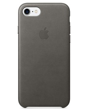 Apple iPhone 7 Leather Case - Storm Gray MMY12