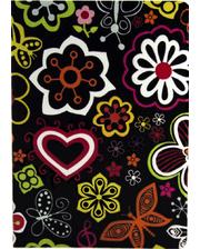 Paint Case Flower Black for iPad Air 2