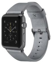 Belkin Classic Leather Band for Apple Watch 38mm Grey (F8W731btC02)