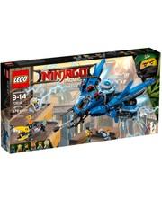Лего LEGO Конструктор Реактивный молниеносный самолет, 70614