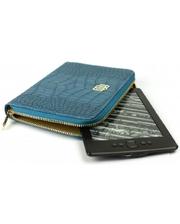 MyBook Универсальный кожаный чехол Wallet Style для планшетов/книг Royal Blue (MB30463)