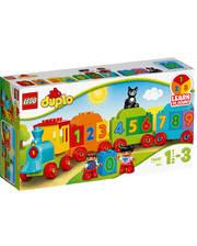 Лего LEGO Конструктор Поезд с цифрами, 10847