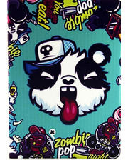 Paint Case Zombie Pop Panda for iPad Air 2