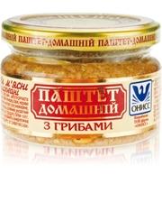 Онисс Паштет «Домашний с грибами», 200 г