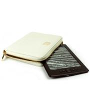 MyBook Универсальный кожаный чехол Wallet Style для планшетов/книг Satin White (MB30465)