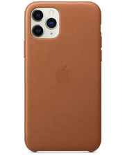 Apple iPhone 11 Pro Leather Case - Saddle Brown (MWYD2)