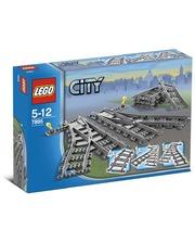 Лего LEGO Конструктор Железнодорожные стрелки, 7895