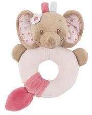 Nattou Погремушка-кольцо слоник Рози 655149