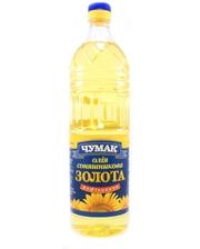 Чумак Масло подсолнечное рафинированное дезодорированное, 1 л
