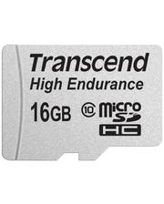 Transcend microSDHC 16 GB Class 10 High Endurance + ad