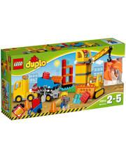 Лего LEGO Конструктор Большая строительная площадка, 10813