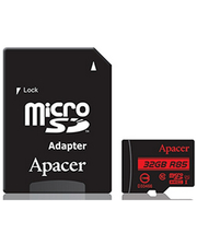 Apacer microSDHC 32GB UHS-I U1+adapter (R85MB/s)