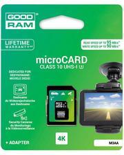 GoodRam microSDXC 64GB UHS I MLC U3 + ad (R95, W90MB/s)