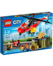 Лего LEGO Конструктор Пожарная команда быстрого реагирования, 60108