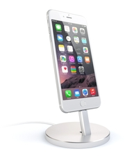 Satechi Aluminum Desktop Charging Stand Silver for iPhone (ST-AIPDS)