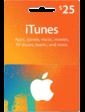 Apple Подарочная карта iTunes Gift Card 25
