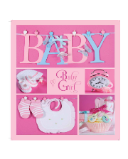 EVG (20sheet Baby collage Pink w/box)