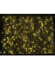 Delux Curtain 1520LED 2х7м (жел/бел)