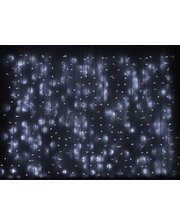 Delux Curtain 1520LED 2х7м (бел/бел)