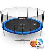Hop-Sport 16ft (488cm) blue с внешней сеткой