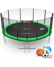 Hop-Sport 16ft (488cm) green с внешней сеткой