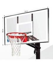 "Spalding 54"" Acrylic In-Ground 88365CN"