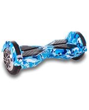 "Smart Balance Lambo U6 8"" LED Blue Camo"