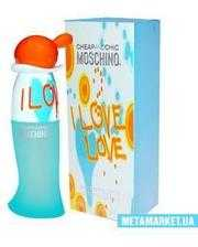 Moschino Cheap & Chic I love love туалетная вода 30 мл