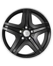 WSP Italy W775 9.5x20/5x130 D84.1 ET50 Dull Black Polished