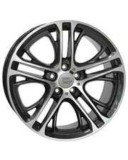 WSP Italy W677 8x19/5x120 D72.6 ET30 Dimond Black Polished