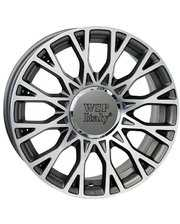 WSP Italy W162 6x15/4x98 D58.1 ET35 Anthracite Polished